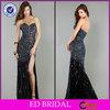 Sweetheart Beaded Stone Beaded Crystals Tulle 2014 Turkish Evening Dress