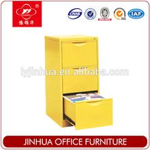 Metal office filing cabinet 3 drawer steel cupboard