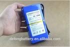 Manufacturer OEM/ODM best 12V storage 6.8Ah/10Ah/20Ah/30Ah lithium ion DC battery pack for surveillance camera battery
