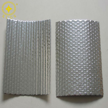 aluminum double bubble roof insulation/bubble roof insulation wrap/aluminum foil air bubble insulation