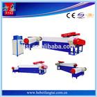 High Efficience Double Stage Pp Pe Film Plastic Granulating Machine