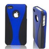 Factory directly combo case for iPhone 5/5S back cover protector bright color silicone mobile phone case and covers
