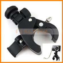 Black Universal Motorcycle Bicycle Holder Stand Mount for GPS / DV / Digital Camera