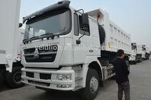 White dump trucks 30t , manual diesel tipper trucks