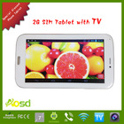 Touch Andorid 4.2 tablet pc with sim card built-in gps 2g wifi