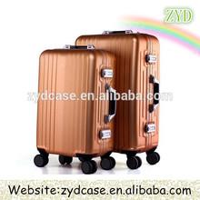 8 Wheels Royal Trolley Luggage Aluminum trolley case