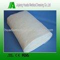 100% algodón blanqueados almohada gasa rodillo enorme