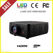 Hot Selling with HDMI, USB, AV, VGA, VIDEO, YPrPb best price used cinema projectors