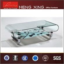Fashional adjustale height three layers coffee table