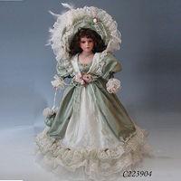 22inches Fashion Design Christmas Decorations Victorian Porcelain Dolls