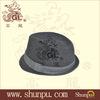 wholesale mens black fedora hats