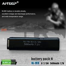toy gun model 8.4v 2/3A nimh battery 6S 2/3N 500mah 7.2V recharge battery