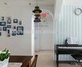 casa moderna iluminação de teto de gesso projeto