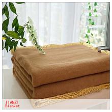 2014 best selling fashion blanket 50% wool blanket