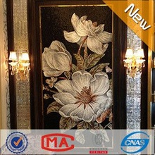 HF JY-JH-BJ01-A flower mosaic tile wall mural photo wallpaper bathroom wall tile stickers 3d landscape pictures