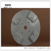 Quick change plate for HTC floor grinding machines and tools