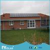 195W monocrystalline black solar panels for sale Accreditation CE,MCS,UL,ISO,TUV