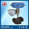 Pneumatic Control Valve For Control Flow And Pressure