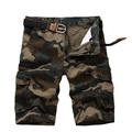 atacado personalizado militar do exército imprimir camo mens cargo shorts