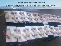 nife battery nickel iron battery 1.2v 1200ah