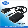 Hot Selling VGA Male to HDMI Female Converter Cable for PC to HDTV