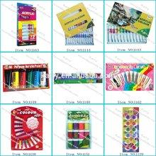 Economical 6ml 16-color acrlic paint set