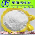 Al2o3 99% 120 malha óxido de alumínio branco em pó para polimento de aço
