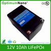 12V 10AH LiFePO4 battery 10ah