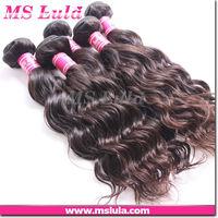 Double weft no shedding raw brazilian hair Guangzhou supplier