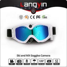 Glasses Camcorder, 720P HD Ski Goggles Camera