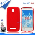 suave teléfono móvil caso de tpu para htc desire 500