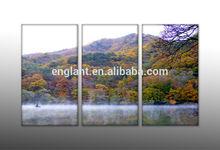 Stretched wholesale canvas prints 3 piece art