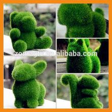 Grass Land Creative Handicraft Animal Rabbit Artificial Turf Skin Decor