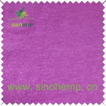 Moisture sweat absorbent and healthy 100% hemp jersey fabric
