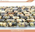 2014 Loose wholesale turquoise gemstone semi precious brown stone