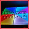 WLK-1-1 28CH 640 pcs RGB leds dmx led dance floor light stage decoration
