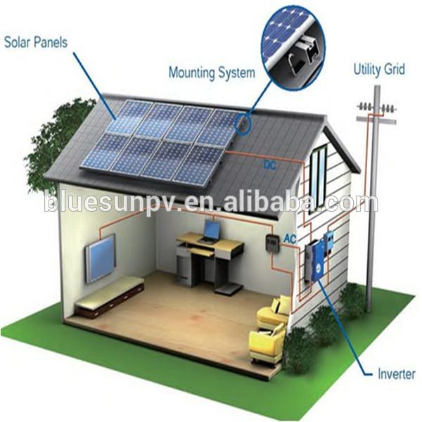 Hybrid Systems Solar System 8kw Hybrid