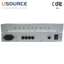 Telecom-Grade Factory supply protocol converter 4 E1 to Ethernet