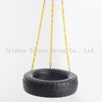 Garden Tire Swing for Kids