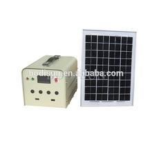 Off Grid Solar Power Hub Generator Portable Solar Charging Kit