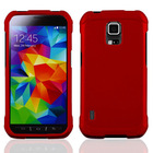 FOR Samsung Galaxy S5 Active G870 Rubberized HARD Case Phone Cover + Screen Guard