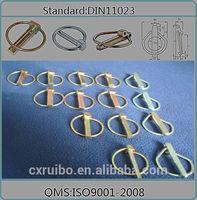 DIN11023 safety lynch lock pin