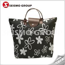foldable cotton bag natural bamboo non woven shopping bags