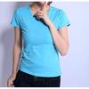 200g 15 Lycra 85 Cotton Ladies Slim Fit , Plain T-shirts , Custom Printed T-shirts , Custom Labels , Chinese Wholesale Clothing