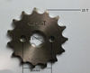 15 t tooth 17mm Front sprocket FOR 428 CHAIN motorcycle dirt pit ATV parts bike