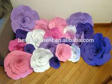 Paper Foam Flower For Wedding Party Backdrop Decor