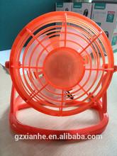 small table desk mini usb plastic fan
