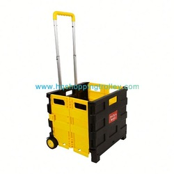 Convenient Foldable Plastic Luggage Trolley