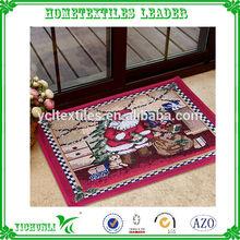 Wholesale Jacquard handmade vinyl bamboo floor mat