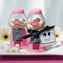 Classic Mini Pink Gumball Machine Party Favors
